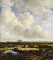 Jacob van Ruisdael View of Haarlem with Bleaching Grounds