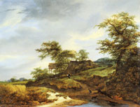 Jacob van Ruisdael Road in the Dunes