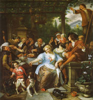 Jan Steen Merry Company on a Terrace