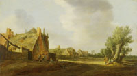 Jan van Goyen Street in a Village