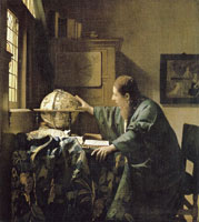Johannes Vermeer The Astronomer