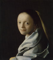 Johannes Vermeer Study of a young woman