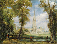 John Constable Salisbury Cathedral from the Bishop's Grounds