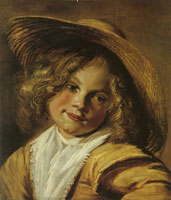 Judith Leyster Girl with a Straw Hat