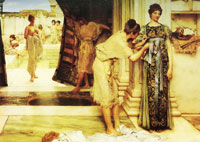 Lawrence Alma-Tadema The frigidarium