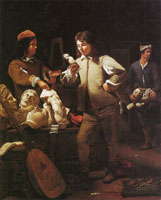 Michael Sweerts An Artist's Studio