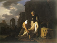 Michael Sweerts The Seven Acts of Mercy - Burying the Dead
