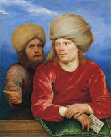 Michael Sweerts Two Men in Oriental Costume
