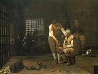 Michael Sweerts The Seven Acts of Mercy - Ministering to Prisoners