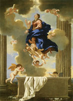 Nicolas Poussin The Assumption of the Virgin