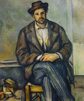 Paul Cézanne Seated Peasant