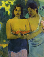 Paul Gauguin Two Tahitian Women