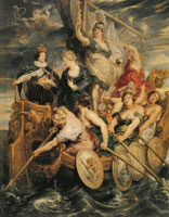 Peter Paul Rubens The Coming of Age of Louis XIII