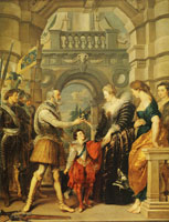 Peter Paul Rubens The Consignment of the Regency