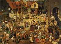 Pieter Bruegel the Elder Carnival and Lent