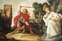 Pieter Lastman The Prophet Balaam and the Ass