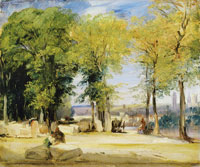 Richard Parkes Bonington View near Rouen