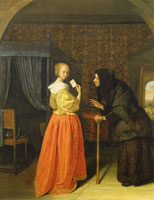 Jan Steen Bathsheba Receiving David's Letter