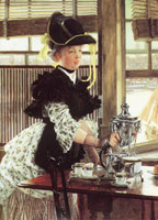 James Tissot Tea-time