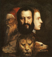 Titian An Allegory of Prudence