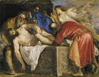 Titian The entombment