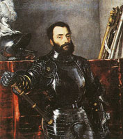 Titian Portrait of Francesco Maria della Rovere, Duke of Urbino