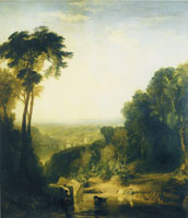 Joseph Turner Crossing the brook