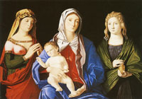 Vincenzo Catena The Virgin and Child with St. Mary Magdalene and another Female Saint