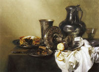 Willem Heda Still Life with Pasty