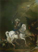 Philips Wouwerman - St. George and the dragon