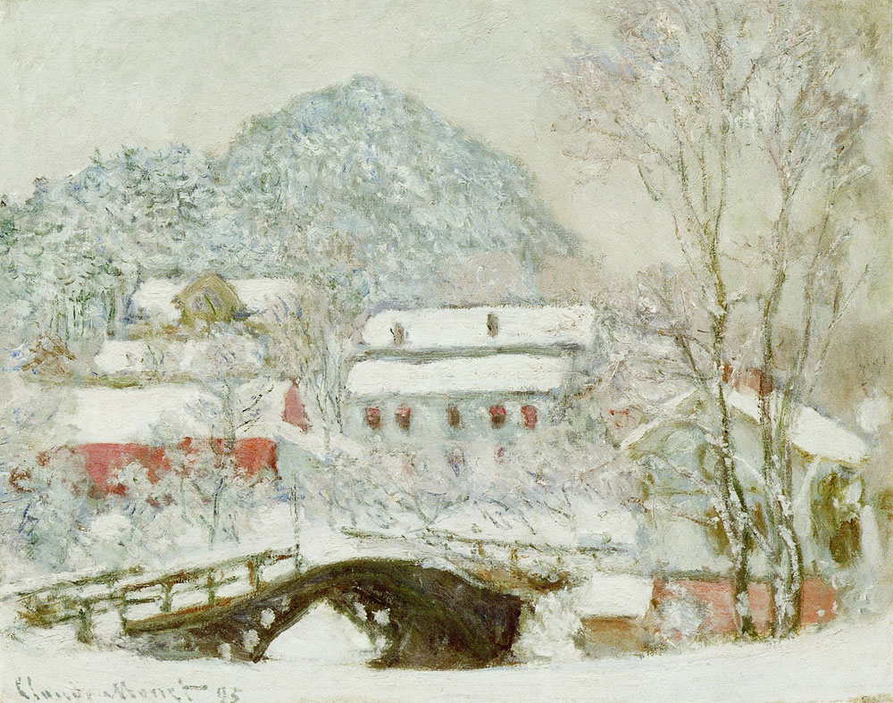 Claude Monet - Sandvika, Norway