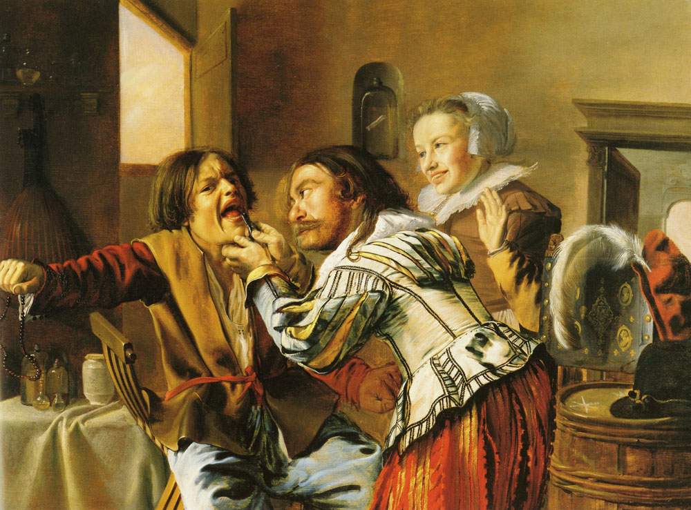 Jan Miense Molenaer - The dentist