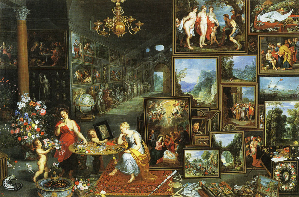 Peter Paul Rubens and Jan Bruegel the Elder - Allegory of sight and smell