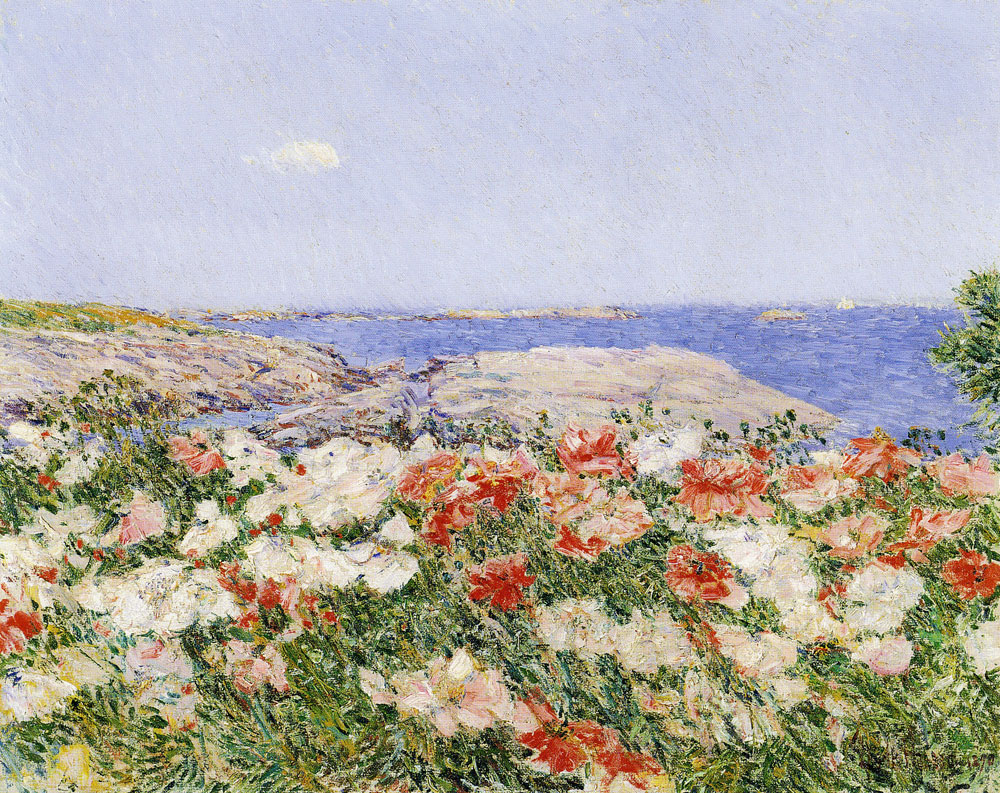 Childe Hassam - Poppies on the Isles of Shoals