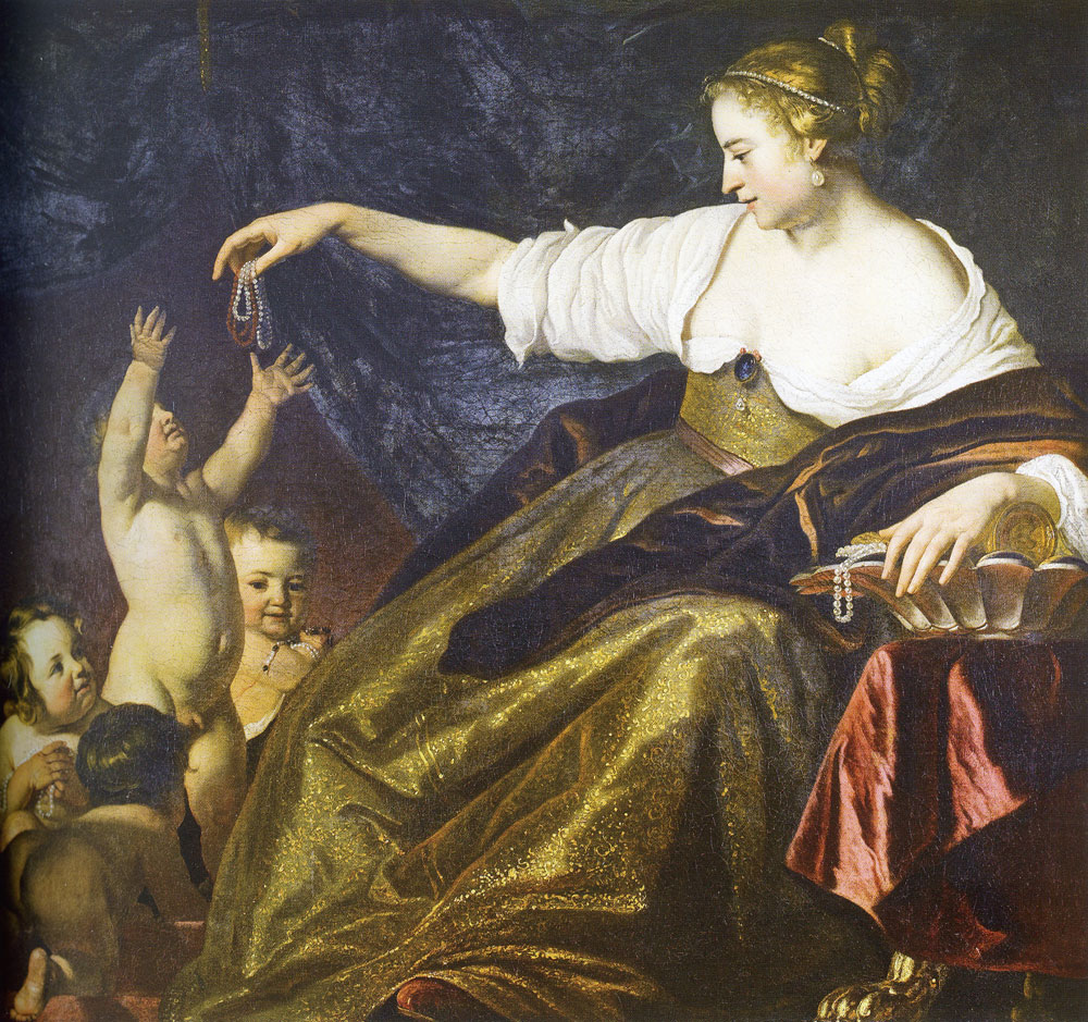 Jacob van Loo - Allegory of riches