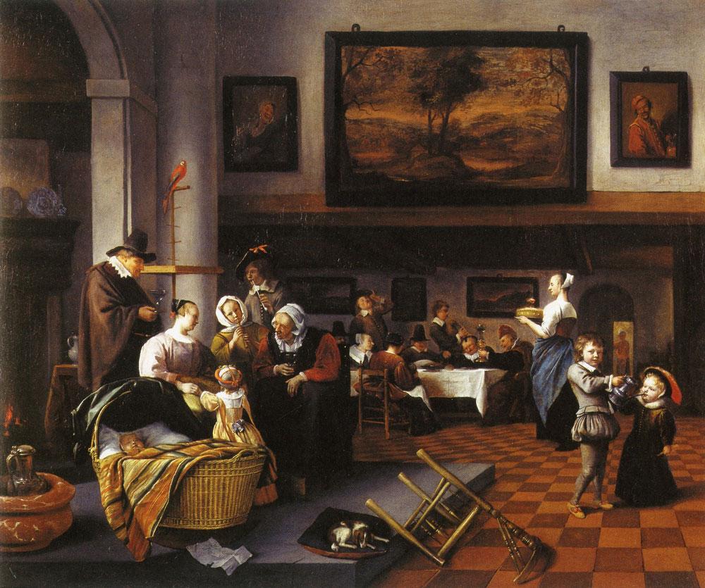 Jan Steen Child S Christening