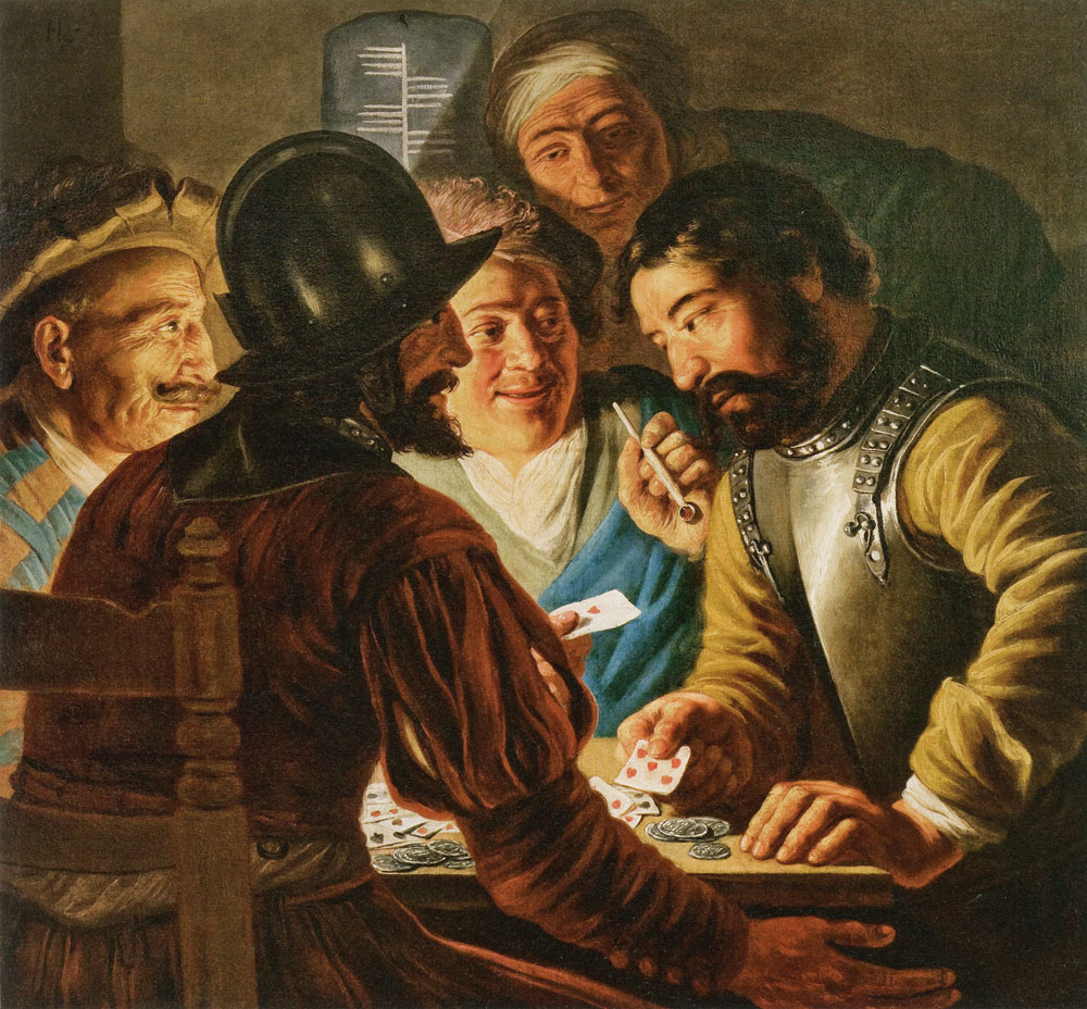 Jan Lievens - The Card Players