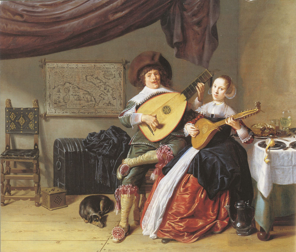 Jan Miense Molenaer - The duet
