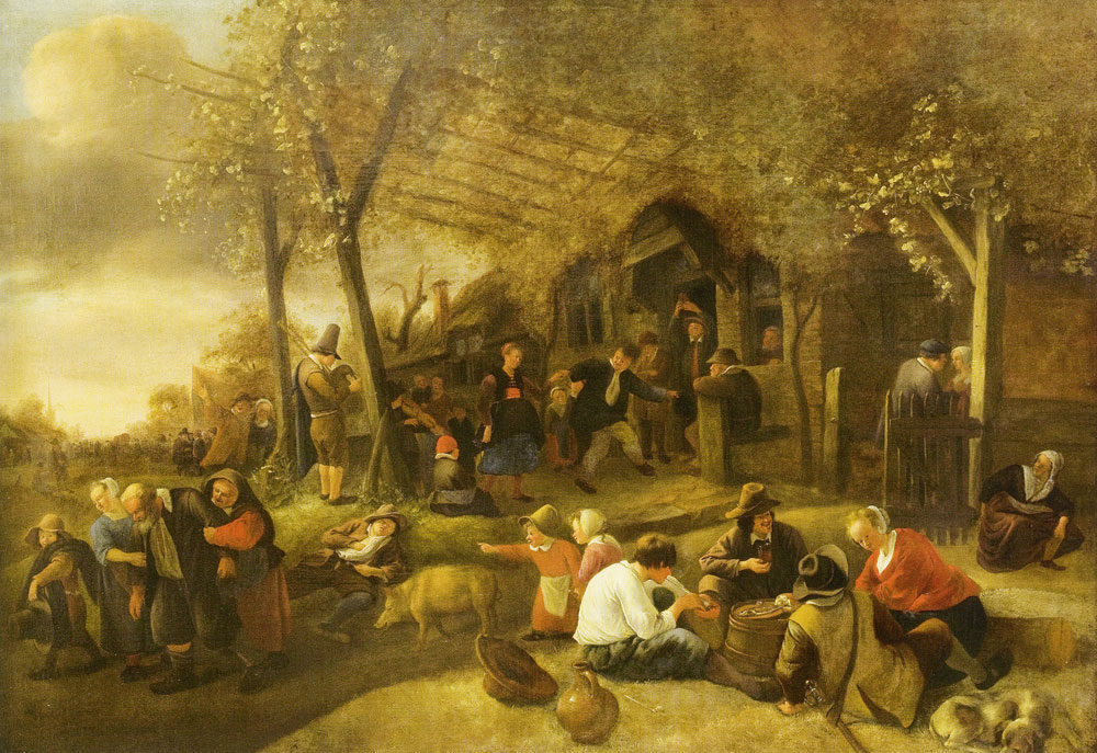 Jan Steen - Peasant Kermis