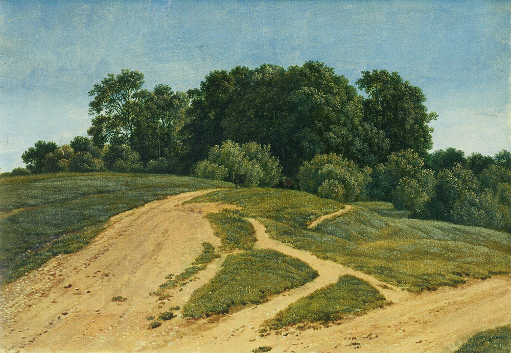 Wilhelm von Kobell - A country lane