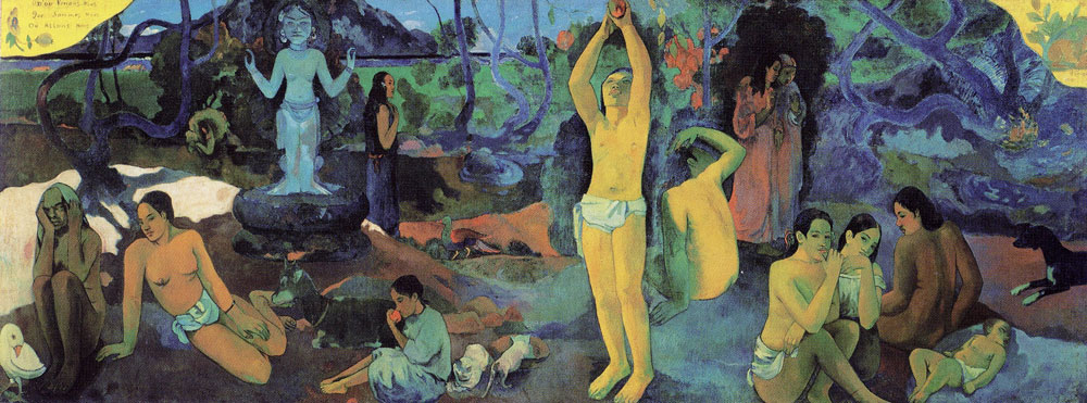 Paul Gauguin - Where do we come from? What are we? Where are we going?