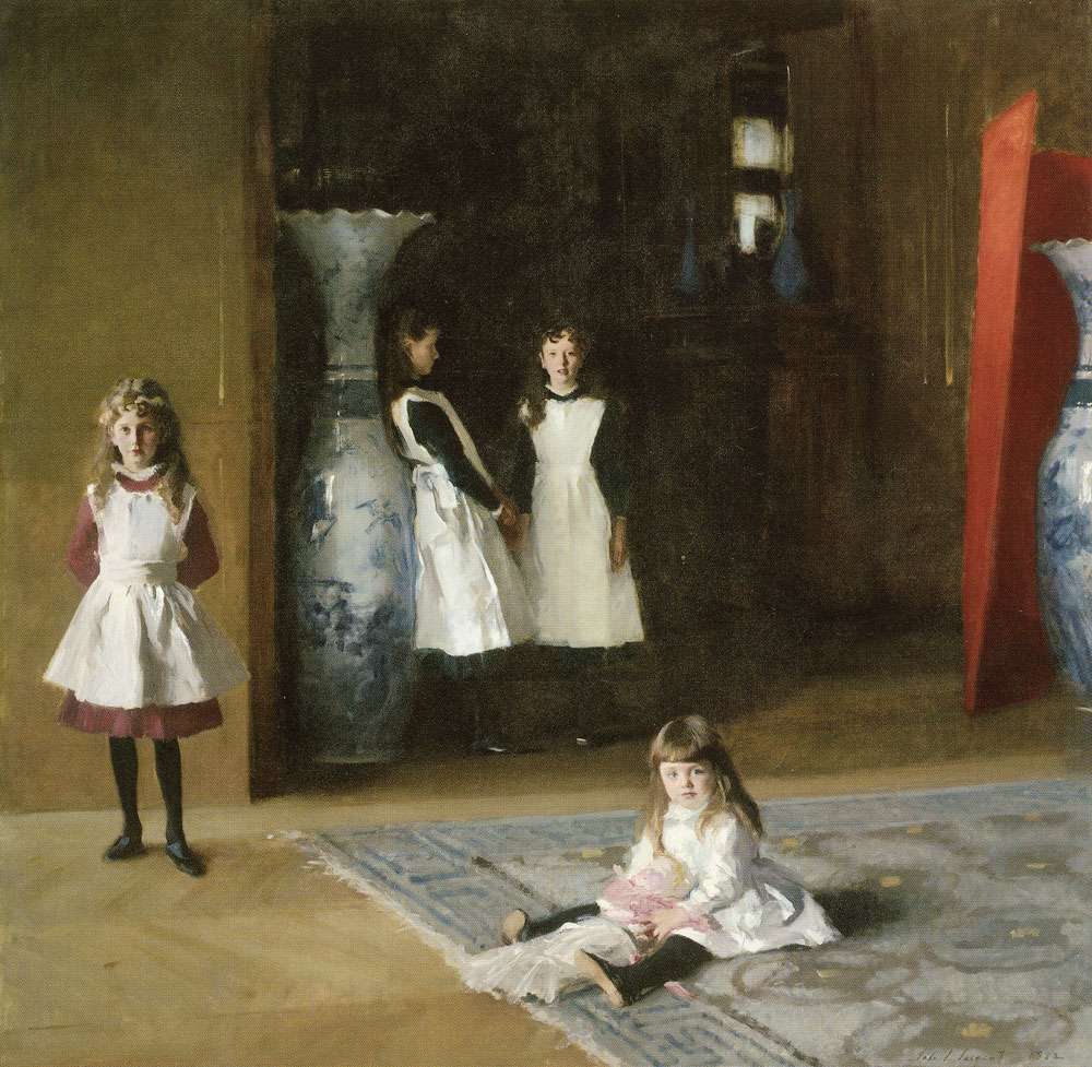 John Singer Sargent - The Daughters of Edward Darley Boit