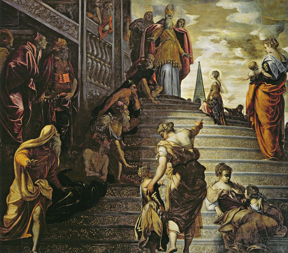 Tintoretto - Presentation of the Virgin in the Temple