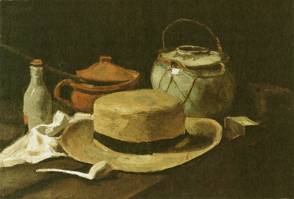 Vincent van Gogh - Still Life with Straw