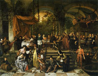 Jan Steen The Wedding Feast at Cana