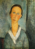 Amedeo Modigliani - Girl in a Sailor's Blouse