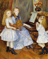 Pierre-Auguste Renoir The Daughters of Catulle Mendès