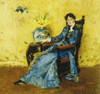 William Merritt Chase - Miss Dora Wheeler