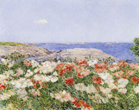 Childe Hassam Poppies on the Isles of Shoals