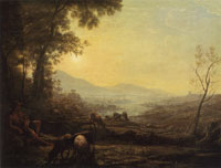 Follower of Claude Lorrain The Herdsman